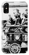 Circus Bandwagon, 1900 IPhone Case