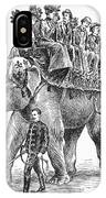 Circus: Elephant, C1901 IPhone Case