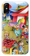 Circus In Town IPhone Case