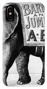 Circus: Jumbo, C1882 IPhone Case