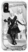 Circus Poster, 1895 IPhone Case