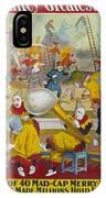 Circus Poster, 1903 IPhone Case