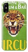 Circus Poster, 1940s IPhone X Case