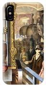 Circus Poster, C1891 IPhone Case