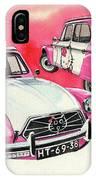 Citroen Dyane Hello Kitty IPhone Case