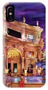 City - Vegas - Mirage - The Entrance IPhone Case