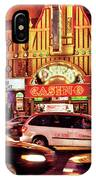 City - Vegas - O'sheas Casino IPhone Case