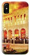 City - Vegas - Venetian - Life At The Palazzo IPhone Case