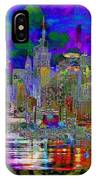 City Garden Art Landscape IPhone Case