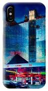 City Gas Station IPhone Case