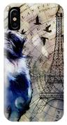 City Girl Goes To Paris IPhone Case by Delight Worthyn