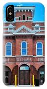 City Hall And Fire Department IPhone Case