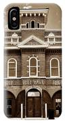 City Hall And Fire Department S IPhone Case