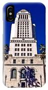 City Hall La IPhone Case