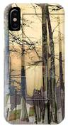 City In Trees IPhone Case
