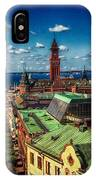 City Of Helsingborg IPhone Case