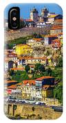 City On A Hillside IPhone Case