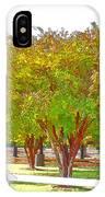City Park 9 IPhone Case