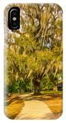 City Park New Orleans - Paint IPhone Case