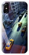 City Street Aerial New York IPhone Case