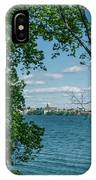 City Through The Trees IPhone Case