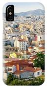 City View Of Old Buildings In Athens, Greece IPhone Case