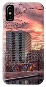 Citygarden Gateway Mall St Louis Mo Dsc01485 IPhone Case