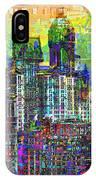 Cityscape Art City Optimist IPhone Case