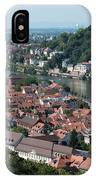 Cityscape  Of Heidelberg In Germany IPhone Case