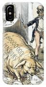 Civil War Pensions, 1888 IPhone Case