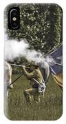 Civil War Re-enactment IPhone Case