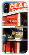 Clam Bar, East Hampton IPhone Case