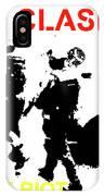 Clash White Riot  IPhone Case