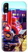 Classic Calico Train IPhone Case