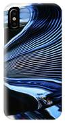 Classic Car Chrome Abstract Reflected Grill IPhone Case
