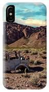 Classic Car Graveyard 2 IPhone Case