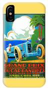 Classic Cars Motor Racing Grand Prix French Riviera 1929  IPhone Case