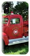 Classic Fire Truck IPhone Case