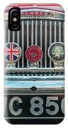 Classic Humber IPhone Case by Nick Bywater