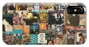 Classic Rock Lp Collage 1 IPhone Case