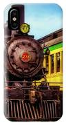 Classic Steam Train No 29 IPhone Case