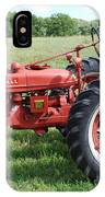 Classic Tractor IPhone Case