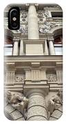 Classical Decorative Building Facade In Vienna IPhone Case