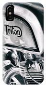 Classical Triton Cafe Racer IPhone Case