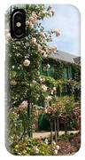 Claude Monets House  - Giverney - France IPhone Case