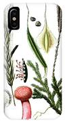 Claviceps Purpures. Recht Wolf's-foot Clubmoss, Stag's- IPhone Case