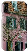 Clay Tile Roof In Charleston IPhone Case