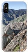 Clear Creek Canyon IPhone Case