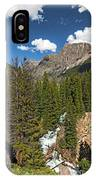 Clear Creek, Flat Top Mountain IPhone Case