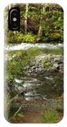 Clear Mountain Stream IPhone Case